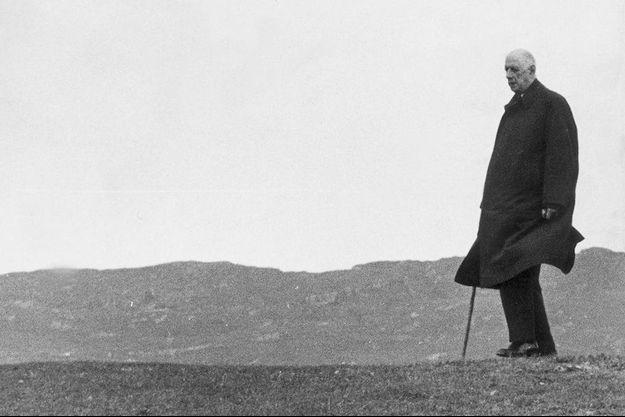 De Gaulle en Irlande en 1969.