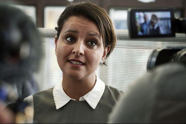 Najat Vallaud-Belkacem a voté à Villeurbanne.
