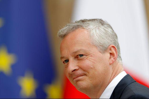 Bruno Le Maire jeudi lors du premier conseil des ministres à l'Elysée.