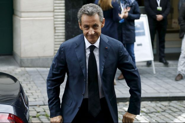 Nicolas Sarkozy à Bruxelles le 23 septembre.