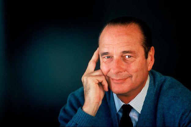 Jacques Chirac dans les années 80.