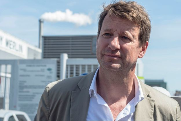 Yannick Jadot, chef de file d'EELV.