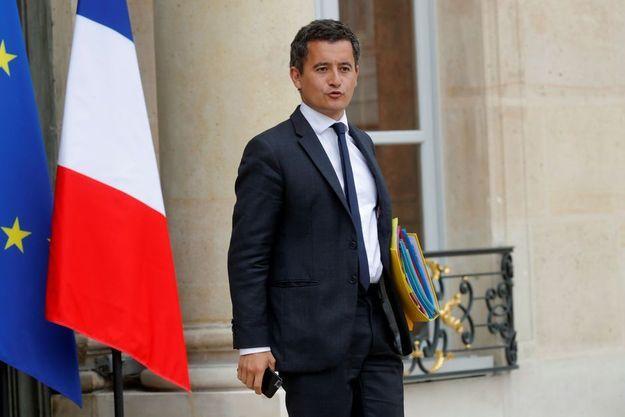 Le ministre des Comptes publics Gérald Darmanin, ici fin août à l'Elysée.