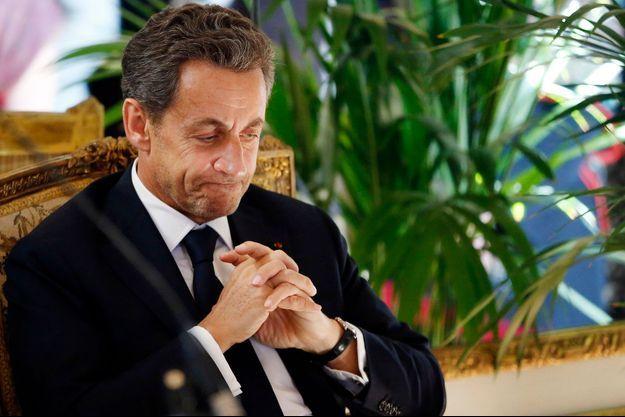 Nicolas Sarkozy à Bruxelles, le 27 mars dernier.