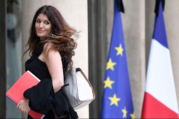Marlène Schiappa, le 24 mai 2017 devant l'Elysée.