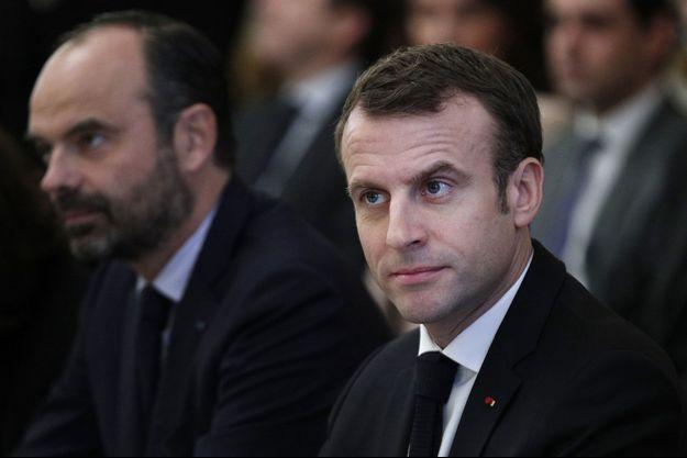 Emmanuel Macron le 10 décembre 2018
