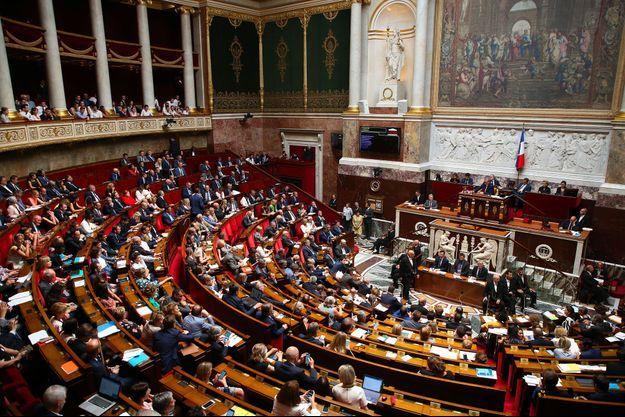 A l'Assemblée nationale, le 23 juillet (photo d'illustration).