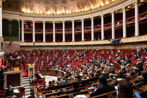 L'hémicycle de l'Assemblée nationale (image d'illustration).