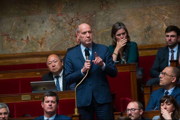 Jean-Jacques Bridey à l'Assemblée nationale en mai 2018.