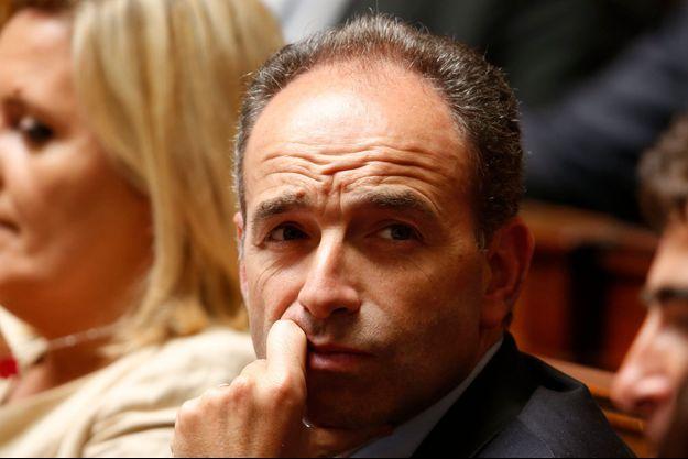 Jean-François Copé le 25 juin dernier à l'Assemblée nationale.