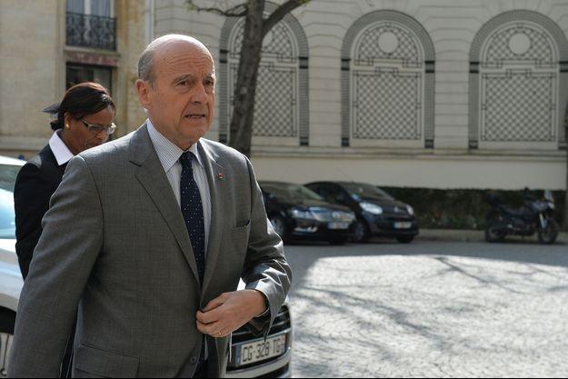 Alain Juppé le 25 mars dernier.
