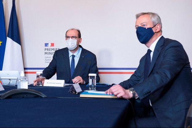 Jean Castex lundi à Matignon avec Bruno Le Maire pour la 3e conférence du dialogue social;