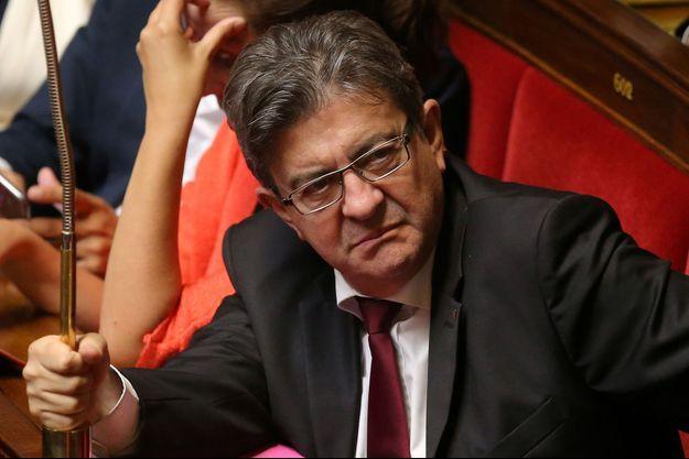 Jean-Luc Mélenchon, ici fin septembre à l'Assemblée nationale.