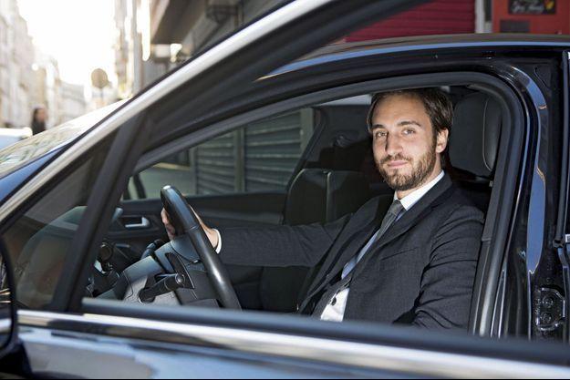 Benjamin Cardoso, fondateur de LeCab, en lutte contre le monopole des taxis.