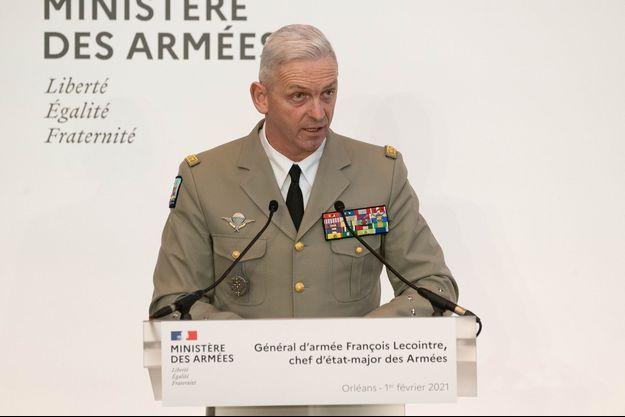 Le général Lecointre.