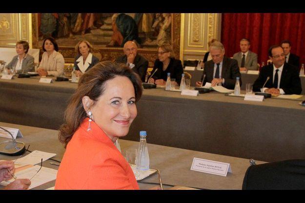 Ségolène Royal à l'Elysée le 12 septembre 2012.