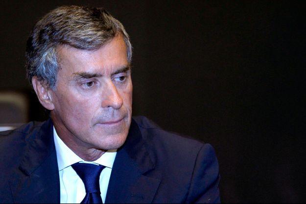 Juillet 2013. Audition de Jérôme Cahuzac à l'Assemblée nationale.