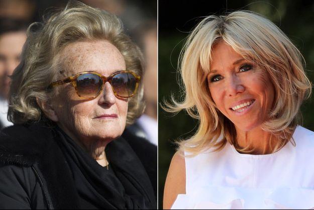 Brigitte Macron a invité à déjeuner à l'Elysée Bernadette Chirac et sa fille Claude.