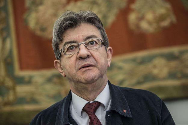 Jean-Luc Mélenchon au sommet international «Un plan B pour l'Union européenne et la zone euro», le 11 mars 2017 à Rome (Italie).