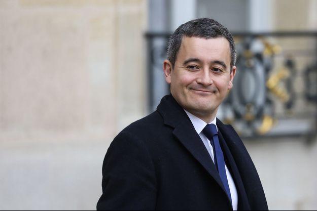 Gérald Darmanin à l'Elysée le 11 décembre.