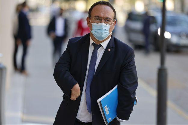 Le patron des députés Les Républicains, Damien Abad, en septembre dernier.