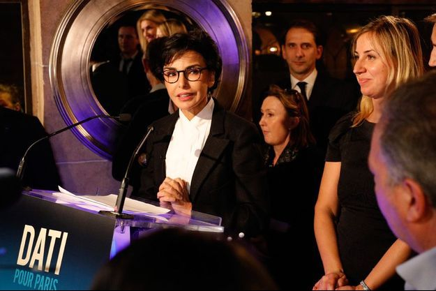Rachida Dati, à Paris le 7 novembre.