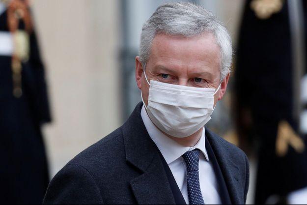 Le ministre de l'Economie Bruno Le Maire, le 27 janvier.