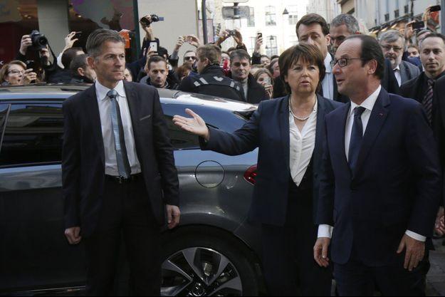 Martine Aubry accueille François Hollande samedi pour aller déjeuner chez le célèbre spécialiste des gaufres, Meert.