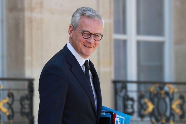 Brino Le Maire la semaine dernière à l'Elysée.