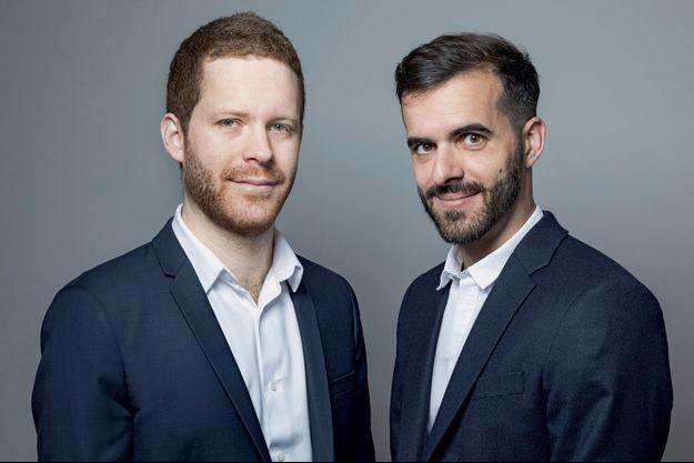 David Amiel et Ismaël Emelien.
