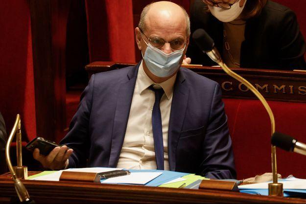 Jean-Michel Blanquer, à l'Assemblée nationale en février dernier.