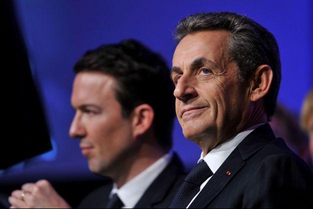 Guillaume Peltier et Nicolas Sarkozy