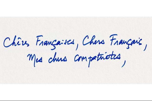 La lettre adressée par Emmanuel Macron aux Français.