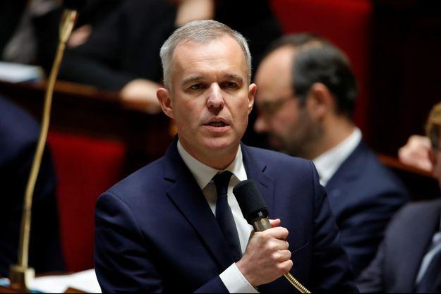François de Rugy, à l'Assemnlée en novembre 2018.
