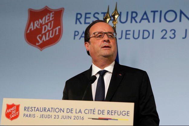 François Hollande le 23 juin 2016