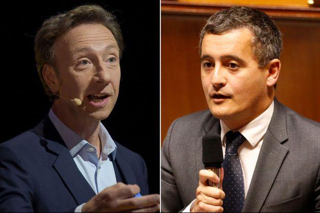 Stéphane Bern et Gérald Darmanin s'affrontent à distance autour du Loto du patrimoine.
