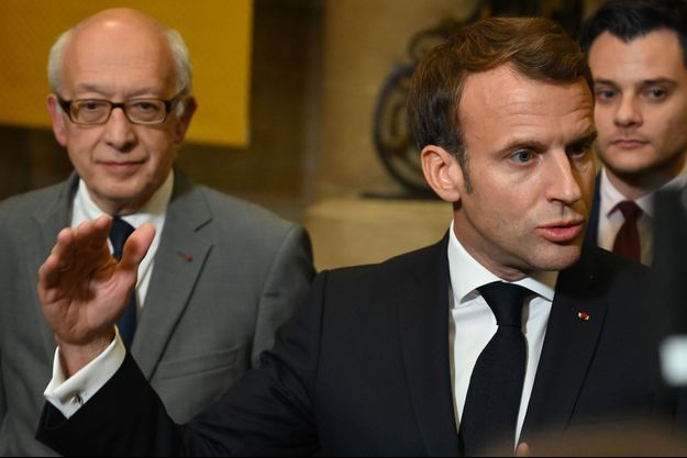 Emmanuel Macron à Rouen, mercredi 30 septembre.