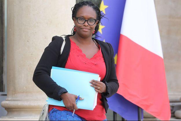 La porte-parole du gouvernement Sibeth Ndiaye, mercredi à l'Elysée.