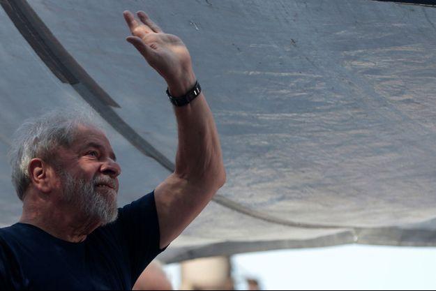 Lula ici à Sao Bernardo do Campo, en avril 2018.