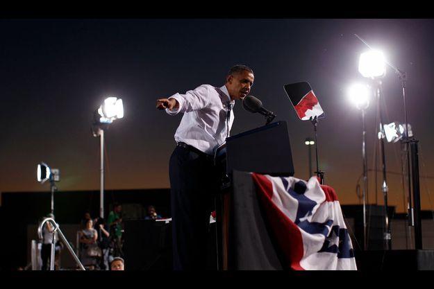 Obama le 30 septembre à Las Vegas.