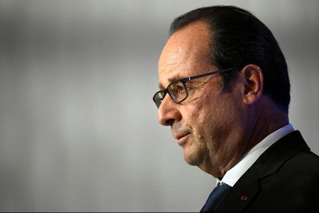 François Hollande à Paris, le 24 novembre.
