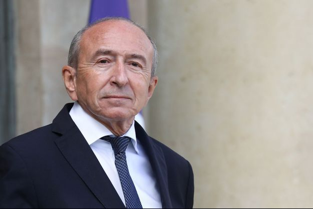 Gérard Collomb ici en septembre 2018 à l'Elysée.