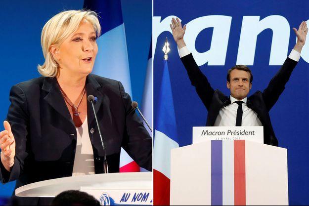 Marine Le Pen et Emmanuel Macron s'affronteront le mercredi 3 mai.