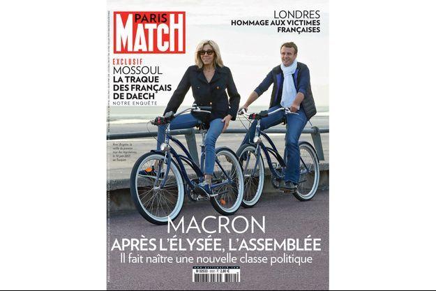 Brigitte et Emmanuel Macron au Touquet