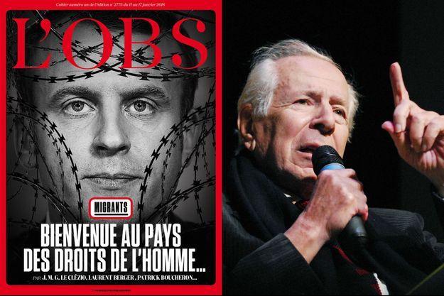 Jean Daniel, fondateur de L'Obs a vivement critiqué la Une de l'hebdomadaire, paru le 11 janvier 2018