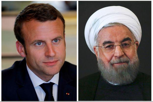 """Macron """"envisage"""" de se rendre en Iran, une première diplomatique depuis 1971."""