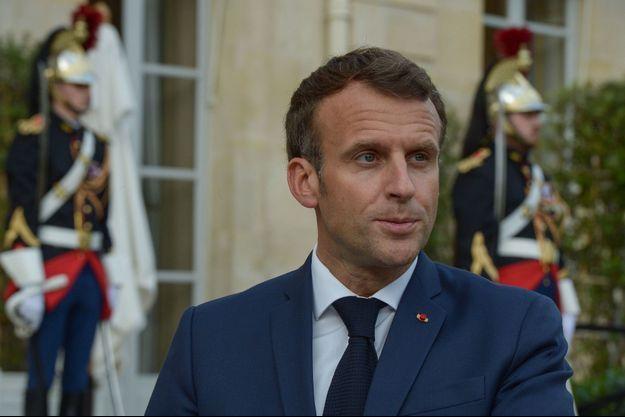 Emmanuel Macron, le 23 juin à l'Elysée.