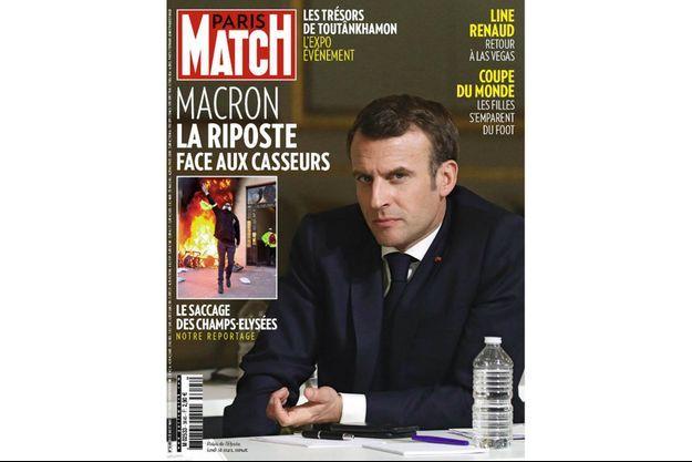 Le numéro 3645 de Paris Match