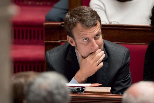 Emmanuel Macron à l'Assemblée nationale le 8 juin.