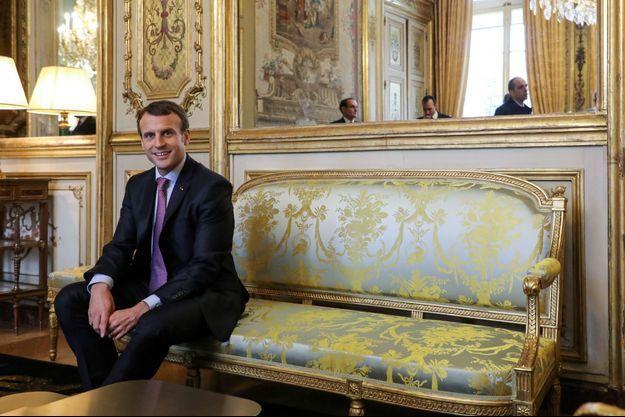 Emmanuel Macron, ici à l'Elysée en décembre 2017.